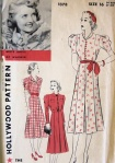 Hollywood dress pattern