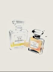 Berndatte Pascua, Chanel No 5, perfume bottles
