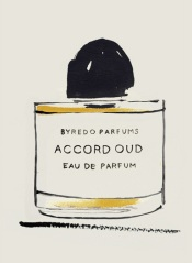 Bernadette Pascua, Byredo perfume bottle