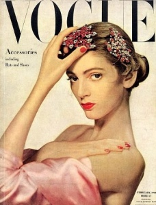 Carmen Dell'Oreficce, Vogue Cover, 1940s