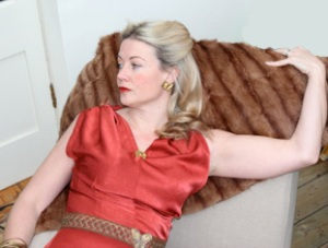 Grace Kelly, red dress