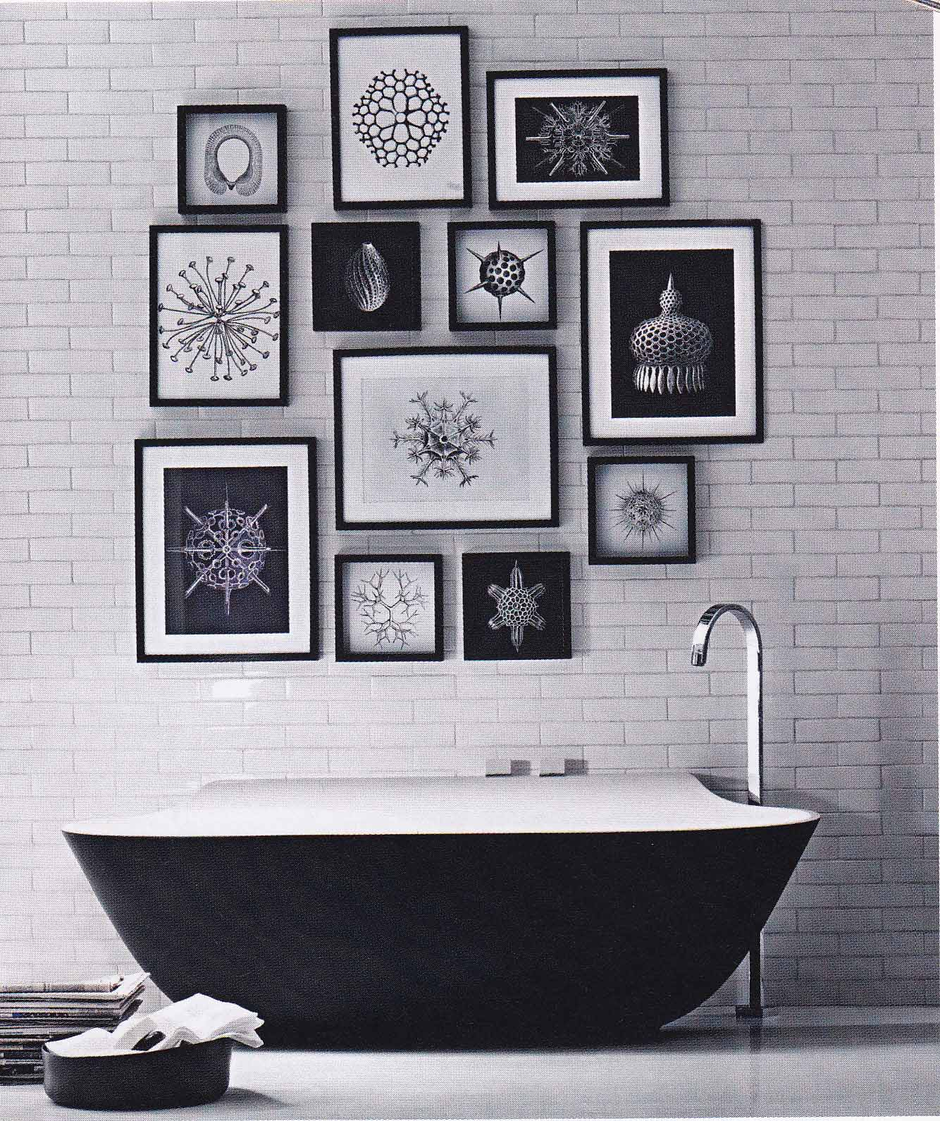 The madam of monochrome i get a kick out of you for Monochrome interior design ideas