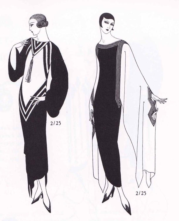 Erte, Art Deco Fashion, Fashion Illustration, Harpers Bazar