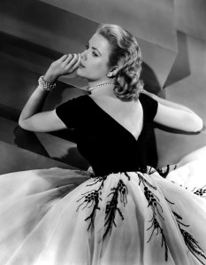 Grace Kelly, Rear Window, back view