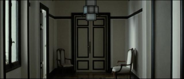 Igor and Coco, hallway, black and white interiors, monochrome