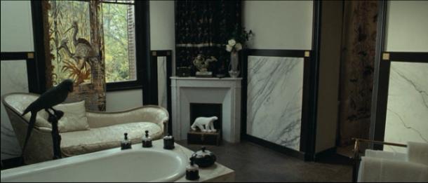 Igor and Coco, bathroom, black and white interiors, monochrome