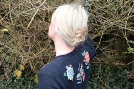 butterfly jumper, back view