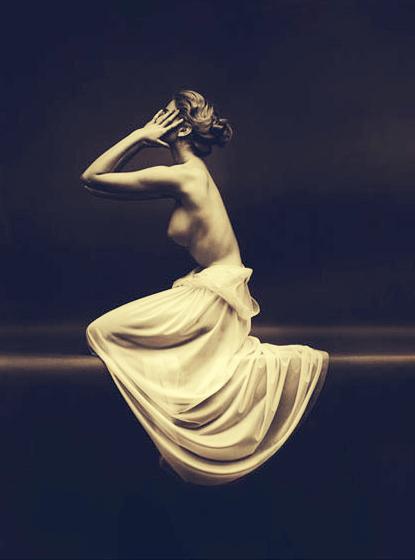 Carmen Dell'Orefice, Mark Shaw, Vanity Fair LIngerie, topless