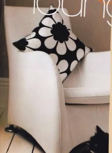 Neisha Crosland, black and white interiors, monochrome