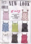New Look camisole pattern