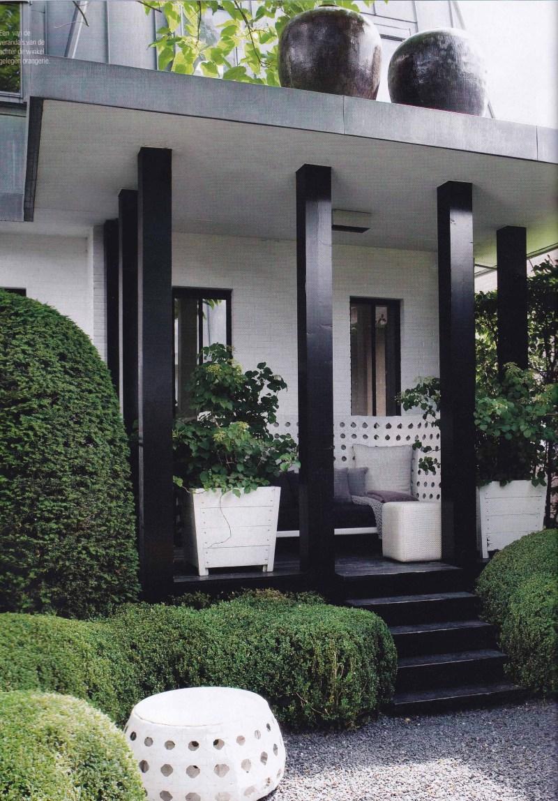 Black & White interiors, monochrome
