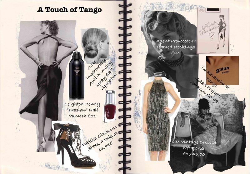 Tango Collage, Space NK, Netaporter, Tabitha Simmons, Leighton Denny, Agent Provocoteur