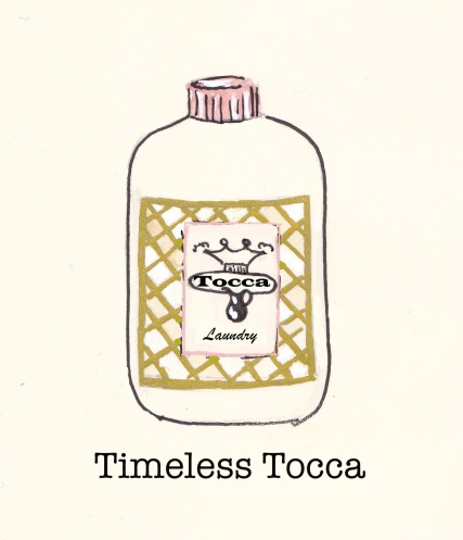 Tocca Laundry Shampoo, Fashion Illustration, Carolyn Everitt