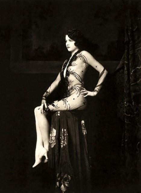Ziegfield Folie, Burlesque, Vaudeville, Erte