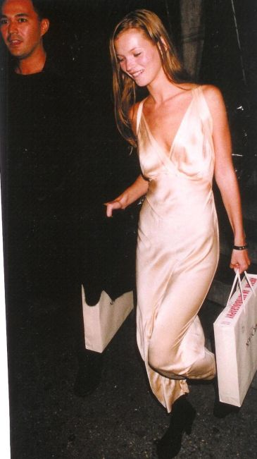 Kate Moss, Vintage Nightdress