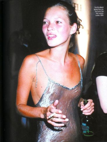 Kate Moss, Transparent slip dress