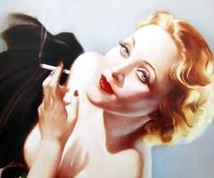 Alberto Vargas, Marlene Dietrich, Pin Up