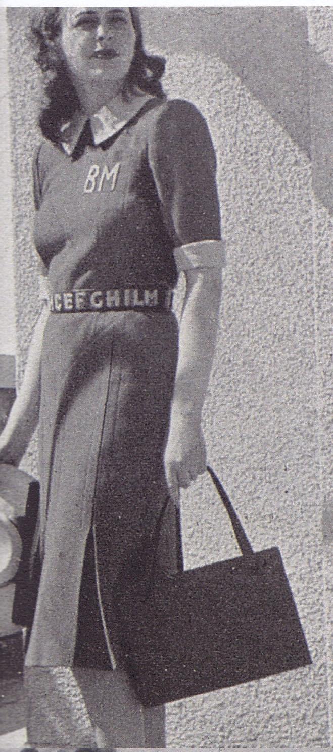 Alphabet belt, 1930s monograms