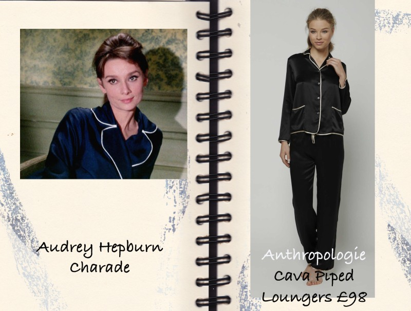 Audrey Hepburn, Pyjamas, Anthropologie