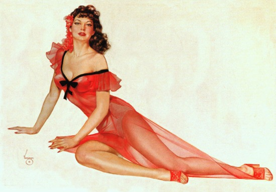 Ava Gardner, Vargas, Pin Up