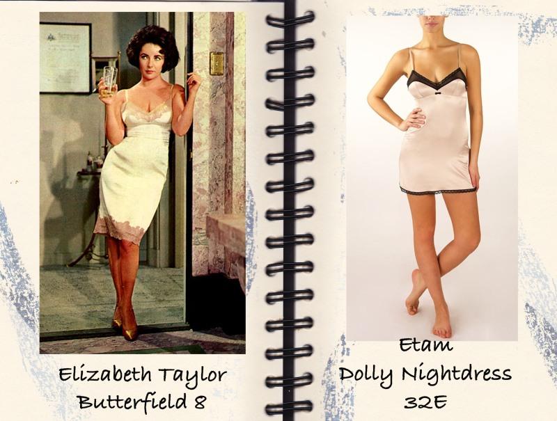 Butterfield 8, Elizabeth Taylor, Negligee