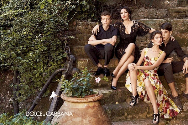 Dolce & Gabanna, Sophia Loren, Spring Summer 2012, Lace Dress