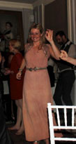 Nude Vintage 1930s Dress, On the move
