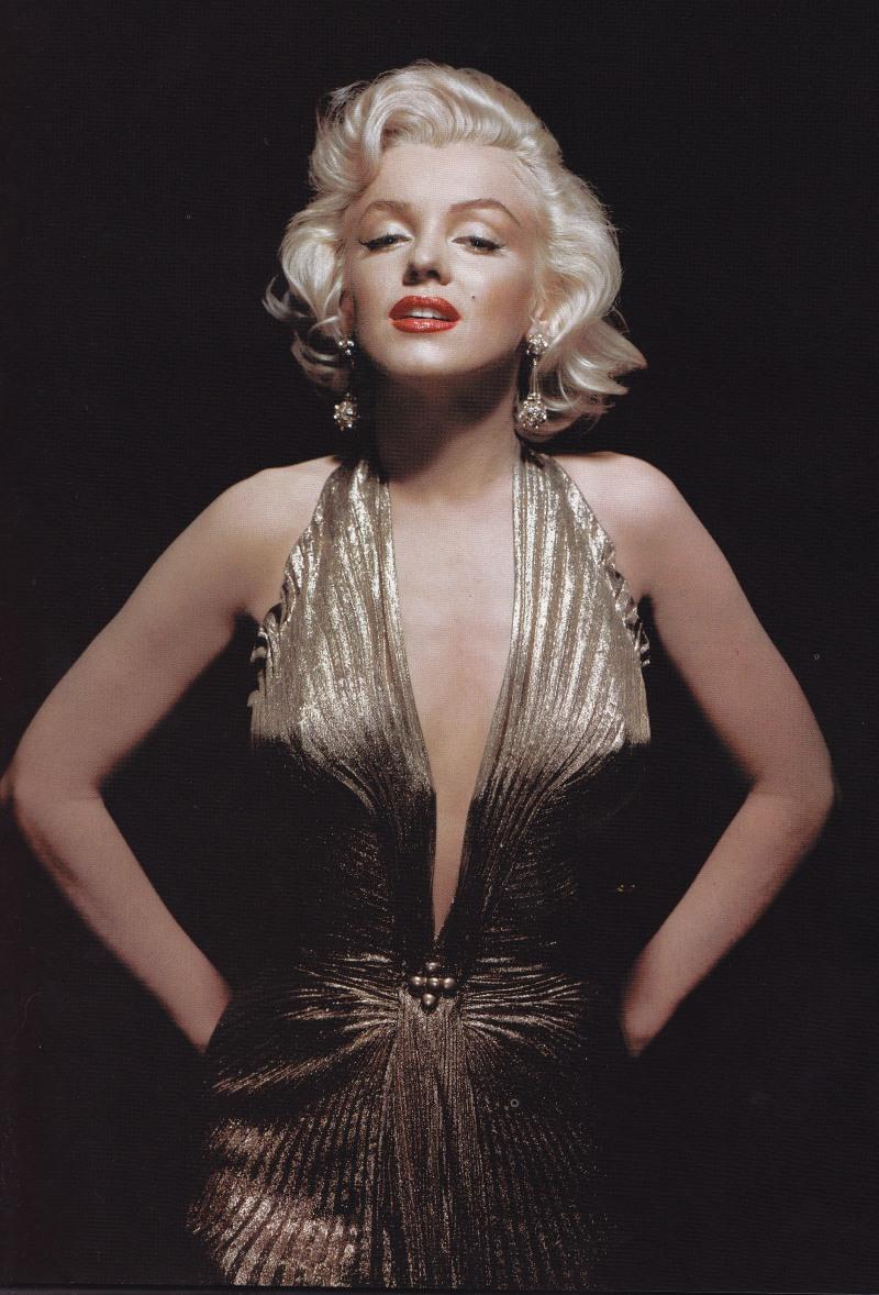 William Travilla, Gold Dress, Marilyn Monroe, Gentlemen Prefer Blondes