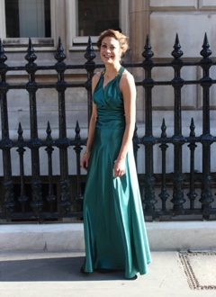 Green 1930s Dress, Atonement