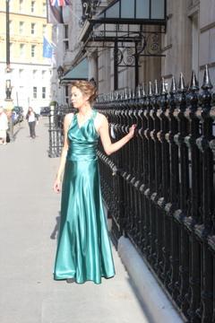 Green 1930s Dress, Atonement, Kiera Knightley,