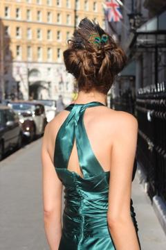 Green 1930s Dress, Atonement, Kiera Knightley