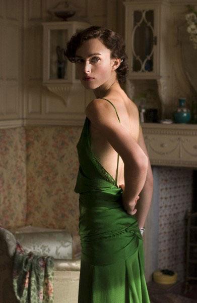 Kiera Knightley, Atonement, Green Dress