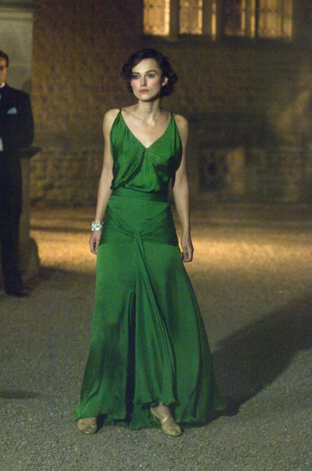 Kiera Knightley, Atonement, Green Dress