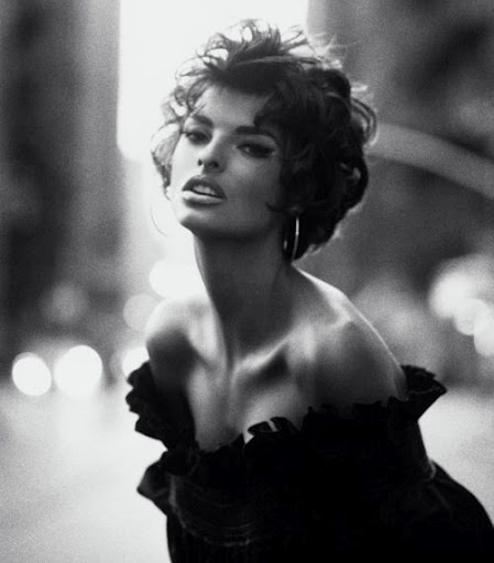 LInda Evangelista, Sophia Loren