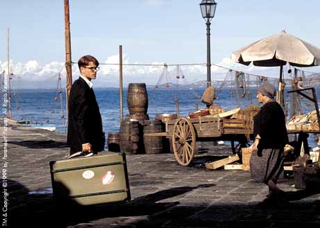 Matt Damon, Talented Mr Ripley, Suitcase, monogram