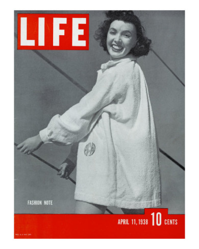 1930s Life Magazine, Monogrammed gown