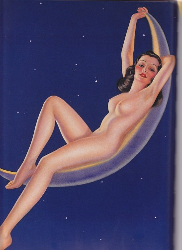 Girl on the moon, Pin up, Billy Devorss