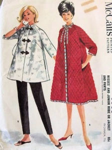 So Vintage Patterns, 1960s housecoat