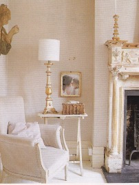 Nude colour scheme, Vintage interiors