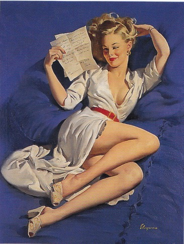 Pin up, Gil Elvgren