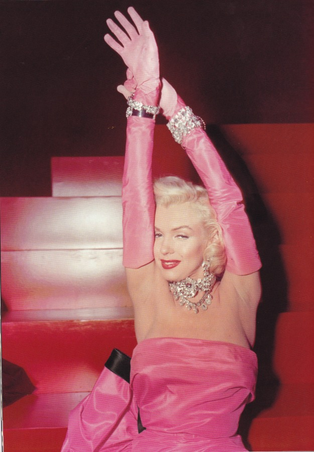 William Travilla, Pink Dress, Marilyn Monroe, Gentlemen Prefer Blondes, Diamonds are a Girl's Best Friend