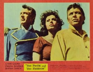 Pride and Passion, Sophia Loren, Cary Grant, Frank Sinatra