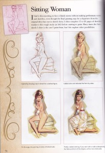 How to draw pin up, Walter Foster