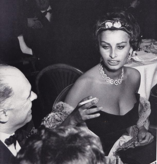Sophia Loren, Cannes, Edward Quinn