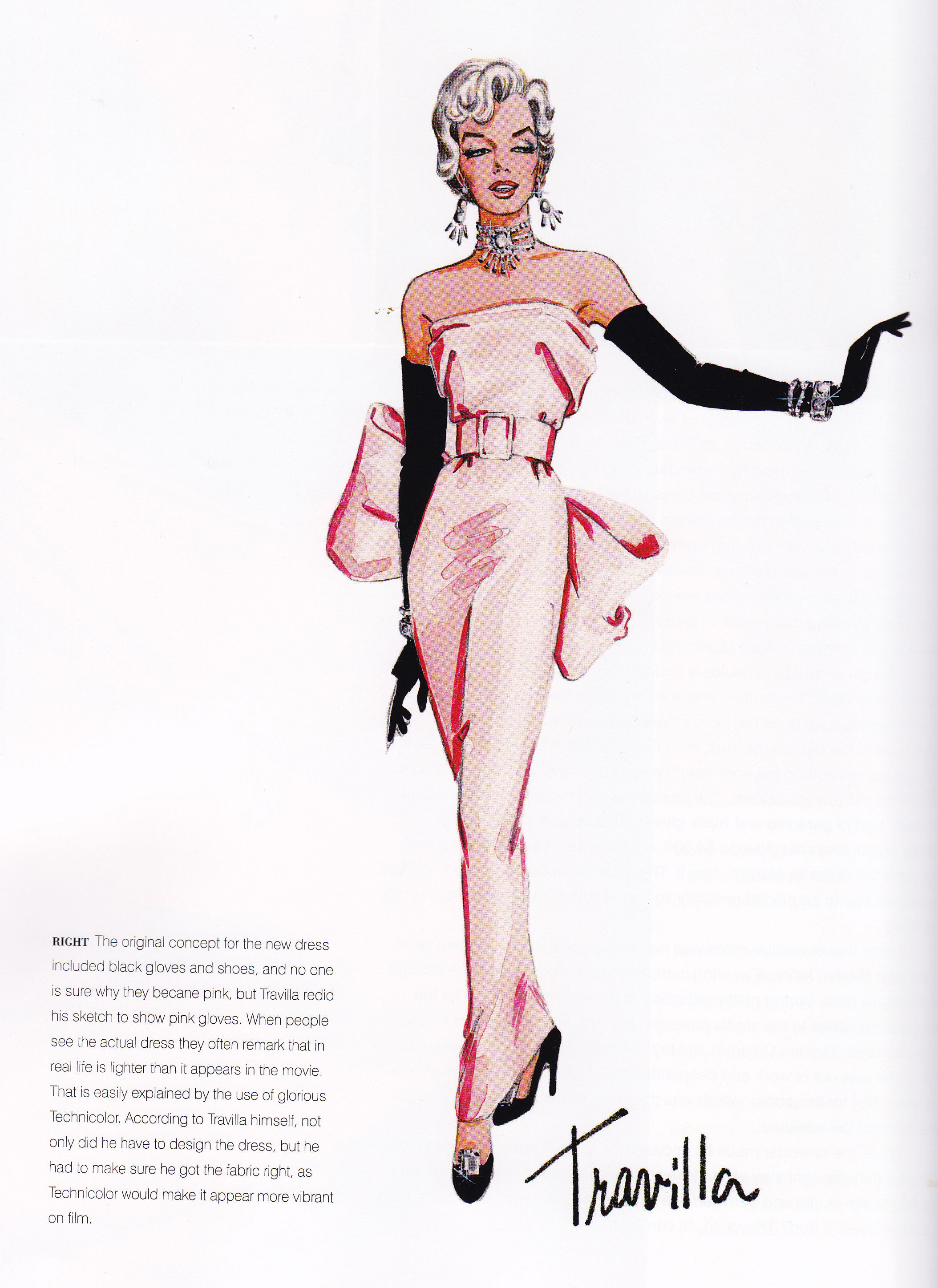 Dresses and Controversy in Gentlemen Prefer Blondes | I Get a Kick ...