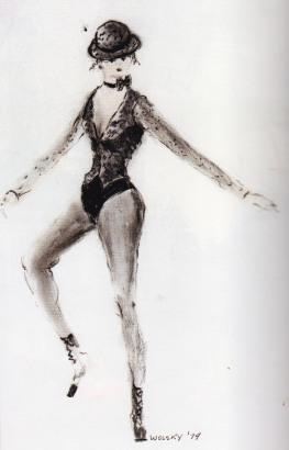 All that Jazz, Fashion Illustration, Albert Wolsky