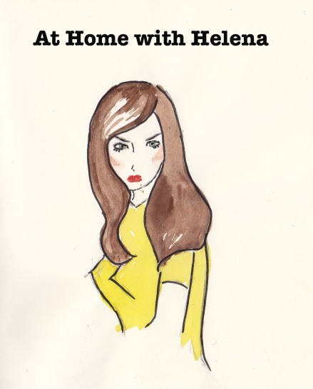 At Home with Helena, Carolyn Everitt