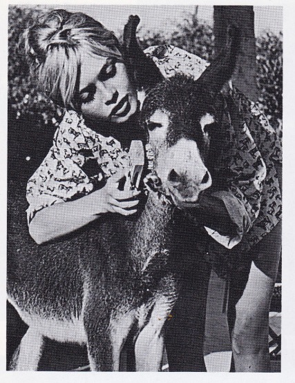 Brigitte Bardot and animals