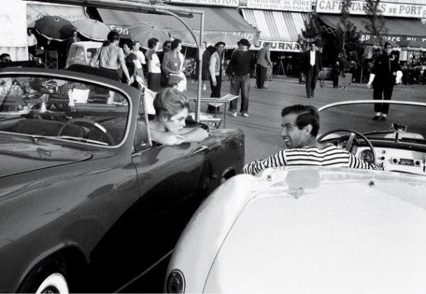 Brigitte Bardot, Roger Vadim, Car, St Tropez
