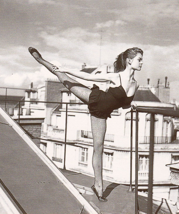 young Brigitte Bardot, Ballet dancer